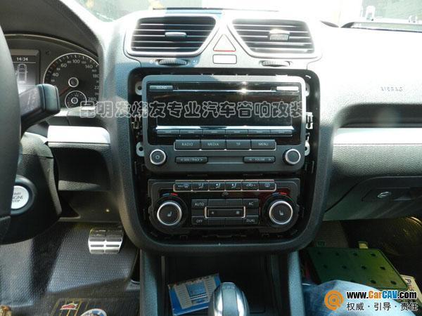 昆明发烧友汽车音响 尚酷汽车升级DVD导航,加装德赛西威NAV230高清图片