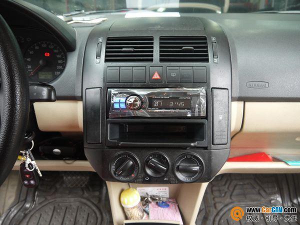 佛山酷车旋律汽车音响 大众POLO音响改装阿尔派CD机高清图片
