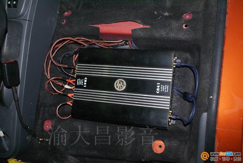 重庆渝大昌汽车音响 长安奔奔音响改装升级德国零点三分频 4高清图片