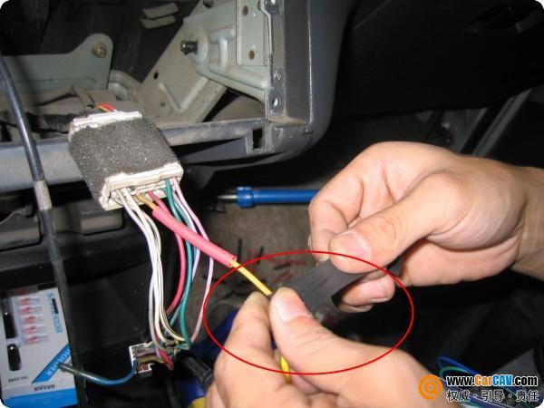 多张图消除车主对音响改装接线的疑虑 高清图片