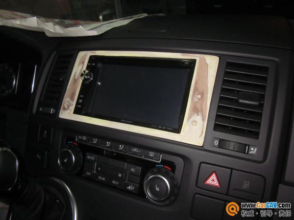 重庆悦声汽车音响 大众T5汽车音响改装燕飞利仕高清图片