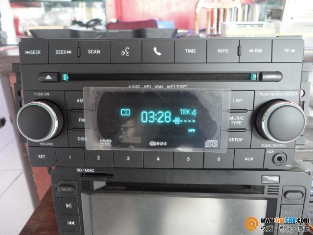 原车 六碟dvd 凯美瑞带屏六碟cd 提供接线图 汽车影音网论高清图片
