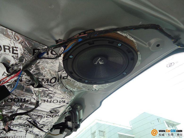 苏州飞音汽车音响 别克GL8音响改装雷贝琴高清图片