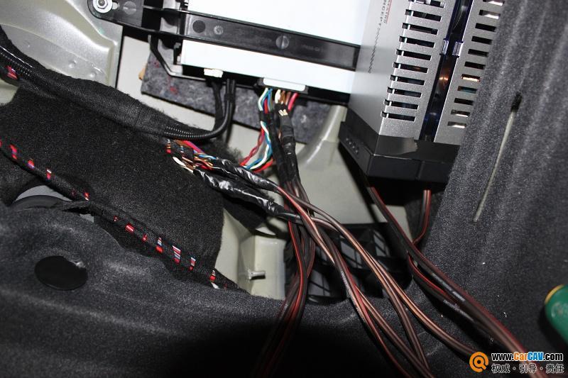 苏州天宏汽车音响 奥迪A6汽车音响改装曼斯特 5图片