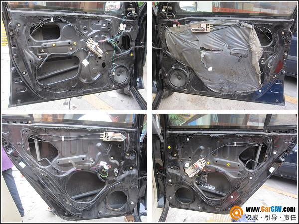 佛山专业汽车隔音 比亚迪f3舒宁全车隔音高清图片