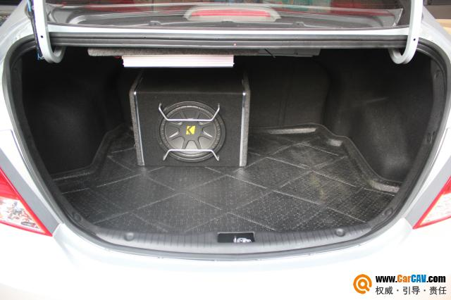 重庆久声汽车影音 现代瑞纳音响改装雷贝琴 8高清图片