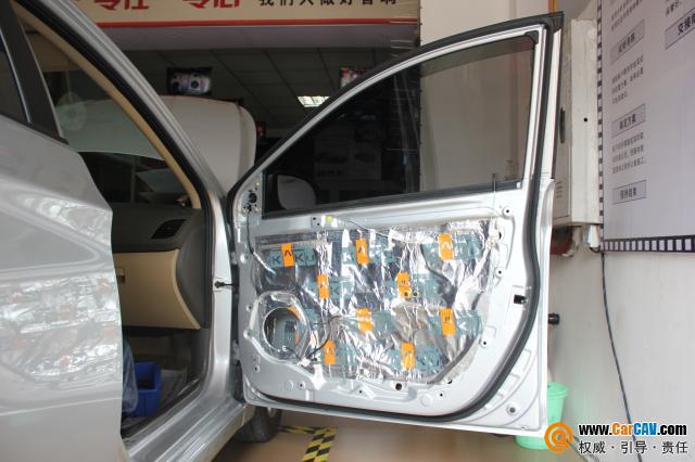 重庆久声汽车影音 现代瑞纳音响改装雷贝琴 4高清图片