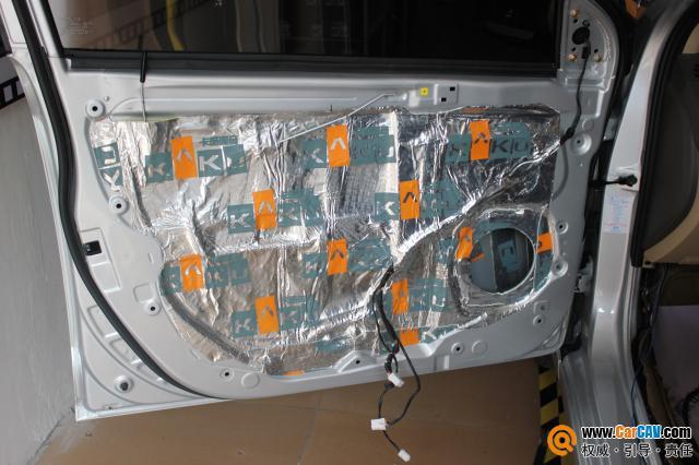 重庆久声汽车影音 现代瑞纳音响改装雷贝琴 5高清图片