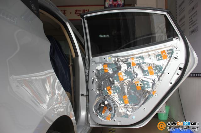 重庆久声汽车影音 现代瑞纳音响改装雷贝琴 6高清图片