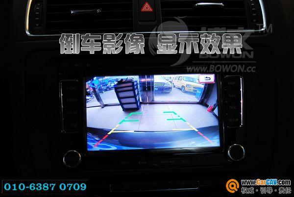12款新速腾安装博文倒车影像德赛西威导航GPS 原车屏升级 汽车影音高清图片