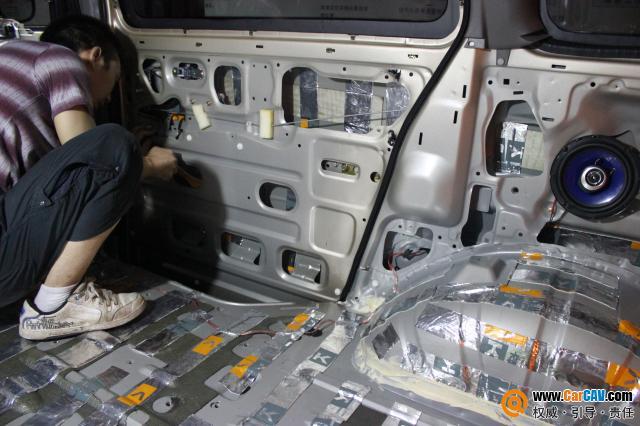重庆久声 东方菱智全车卡酷隔音 同轴喇叭 汽车隔音 汽车影音网论坛 高清图片