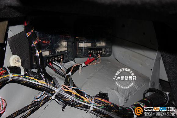 杭州动听音符 凯迪拉克赛威音响改装, 不比原车差高清图片