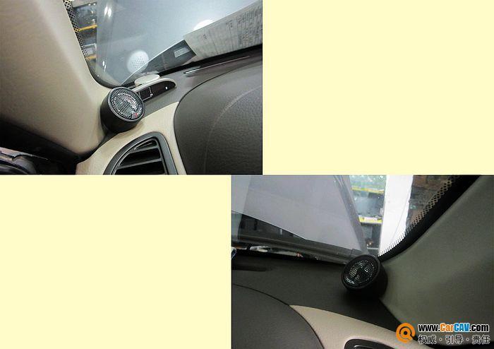 佛山途歌东南汽车V3菱悦汽车音响改装劲浪高清图片