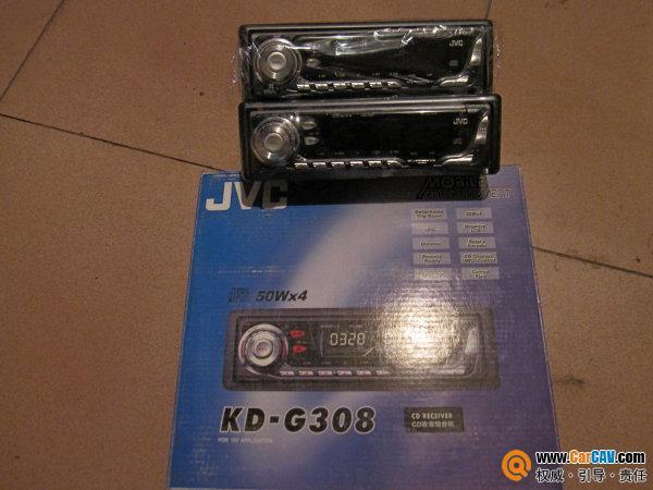 大连出jvc单碟cd主机 4路功放 劲浪165a1套装喇叭高清图片