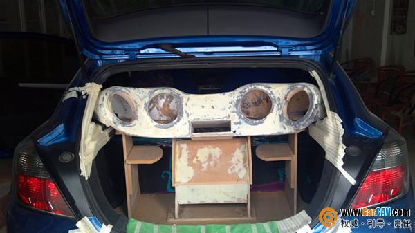 沧州沃富林汽车音响改装 欧宝雅特完美改装高清图片