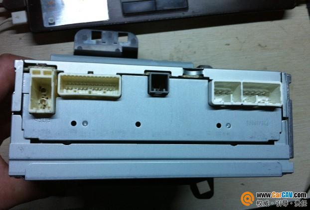 松下cd加aux和usb的接线方法高清图片