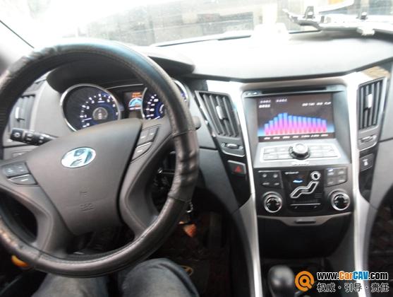州专业汽车音响改装 北京现代索纳塔8换装贵阳元音至尊型高清图片
