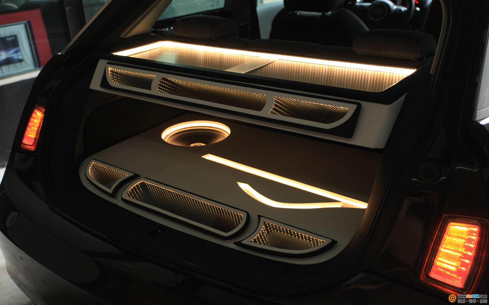广州鉴音奥迪A1汽车音响改装音响奢华升级享受高清图片