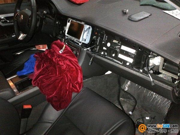 重庆永邦捷豹XF汽车加装解码器升级原车屏倒车后视 汽车影音网论坛 图片