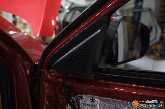 重庆渝大昌长安逸动汽车音响改装莱福音质完美高清图片