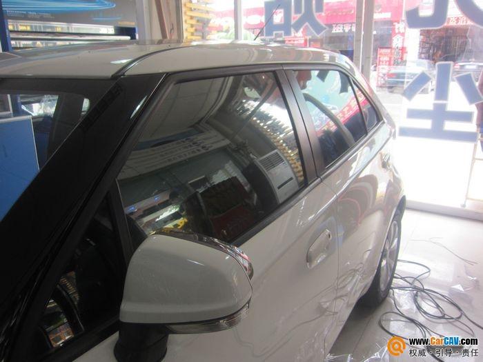 佛山车百度专业汽车贴膜 MG3全车雷朋贴膜高清图片