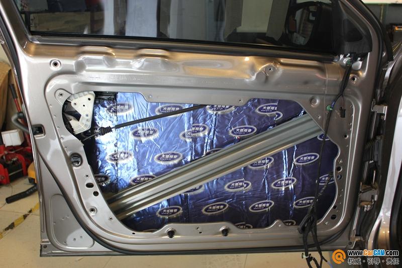 重庆道声大众迈腾华丽丽的变身 汽车音响改装芬朗高清图片
