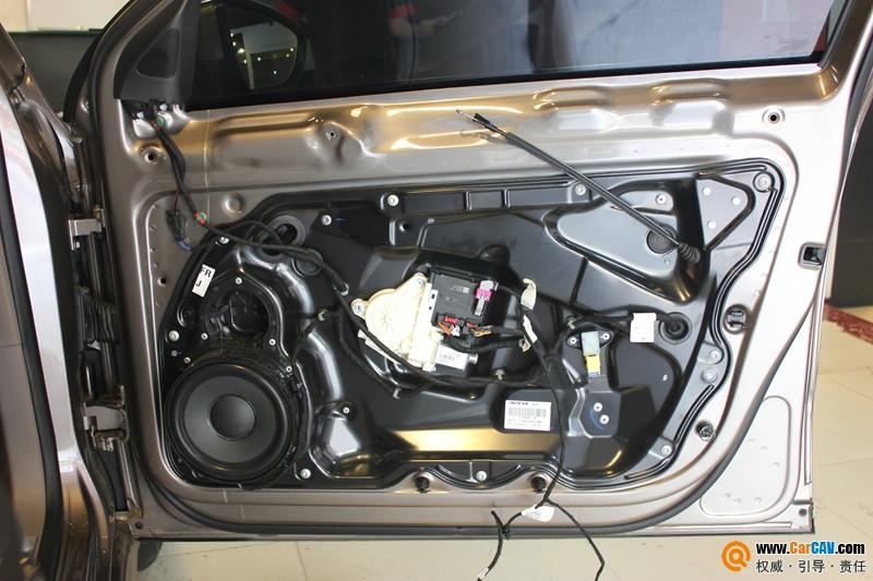重庆大众迈腾音响改换 芬朗前后喇叭 功放TX3004 大能全车隔音 汽车高清图片