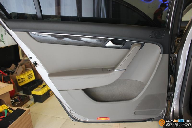 重庆道声大众迈腾华丽丽的变身 汽车音响改装芬朗 5高清图片