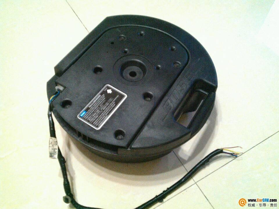 请问这个bose的备胎炮是怎样接线的 车主汽车音响问题咨询高清图片