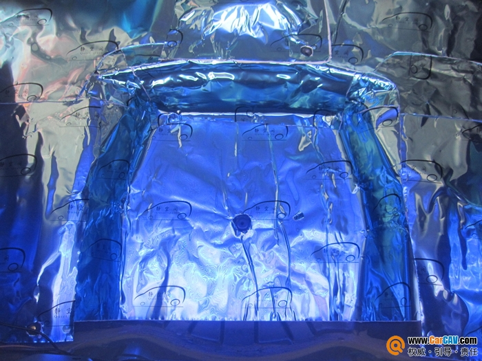 比亚迪F0水箱漏水,静空间隔音挽救泡水底盘高清图片