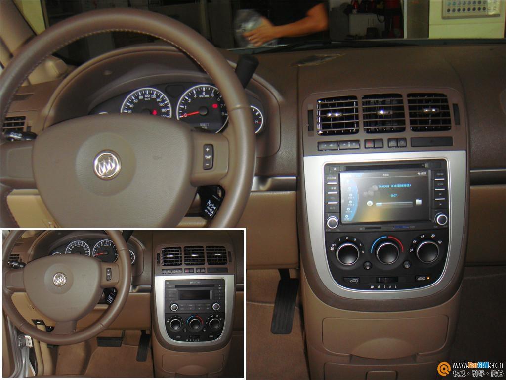别克GL8汽车导航升级卡仕达 引领车载好生活高清图片