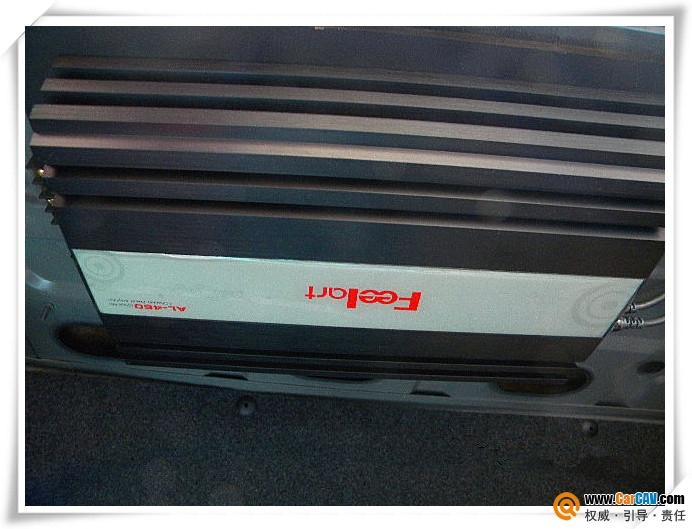 大众帕萨特尾箱超低音倒模 节省空间补形箱造型 3高清图片