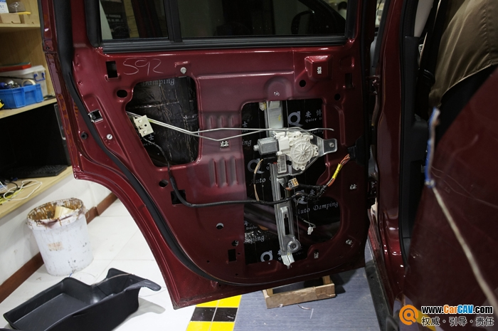 重庆渝大昌Jeep指南者汽车音响改装来福劲爆来袭高清图片