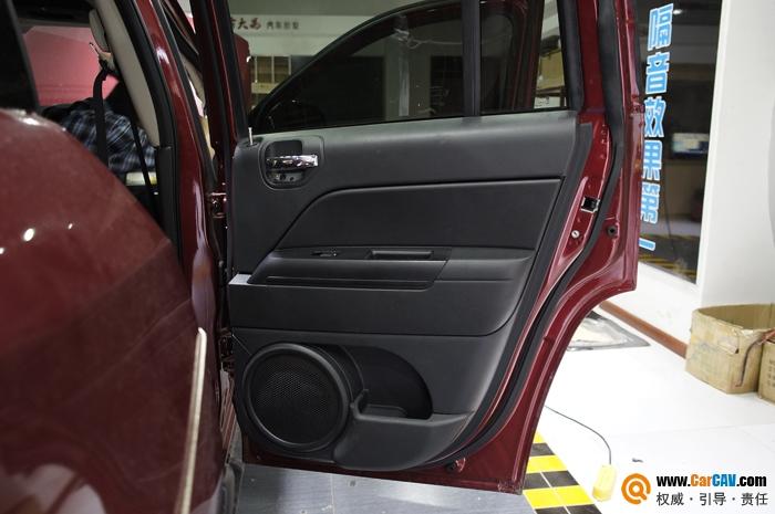 重庆渝大昌jeep指南者汽车音响改装来福劲爆来袭 高清图片