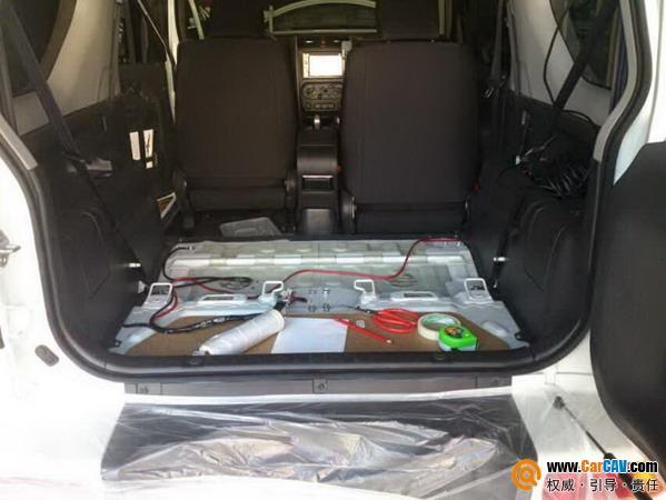 大连苹果唱响 铃木吉姆尼后尾箱加装储物柜 汽车影音网论坛 汽车音响高清图片