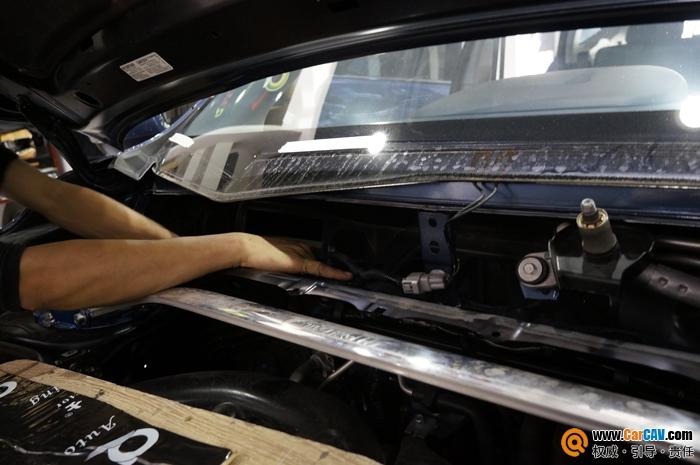 重庆渝大昌斯巴鲁森林人汽车音响改装零点完美呈现高清图片