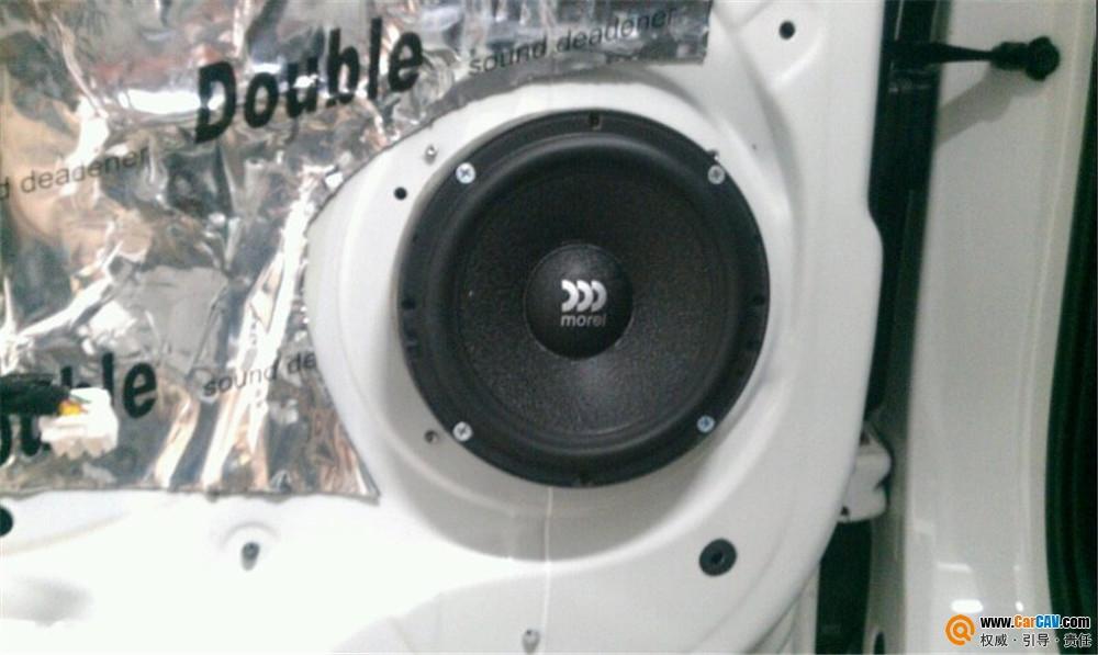 【哈尔滨s-sound】起亚智跑汽车音响改装摩雷享受优美旋律 - 香港佳能仕公司 - 汽车音响改装案集锦!摩雷和MOSCONI