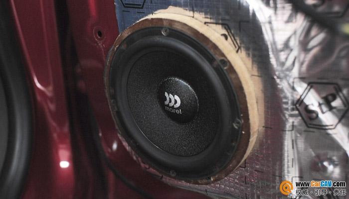 【重庆三正】雪佛兰科鲁兹舍弃原车喇叭,另结新欢 - 香港佳能仕公司 - 汽车音响改装案集锦!摩雷和MOSCONI