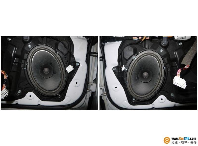 【佛山酷车旋律】新马自达3音响改装摩雷玛仕舞 - 香港佳能仕公司 - 汽车音响