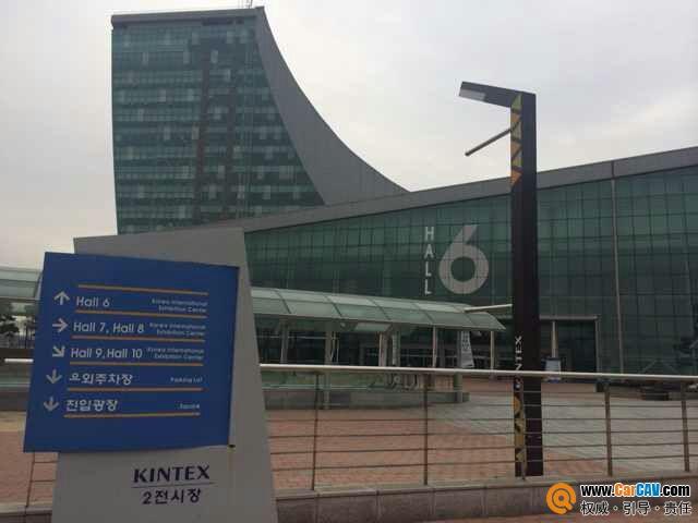 展会场馆指引   本次举办地kintex国际展览中心   让我们一高清图片