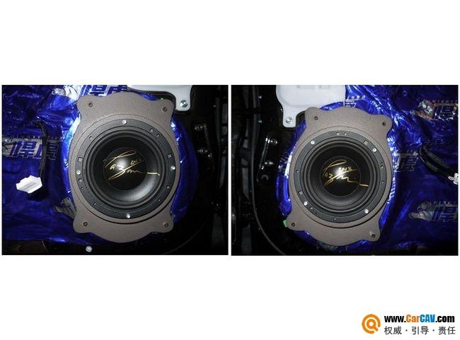 【佛山酷车旋律】雷克萨斯ES300音响改装摩雷新体验 - 香港佳能仕公司 - 汽车音响