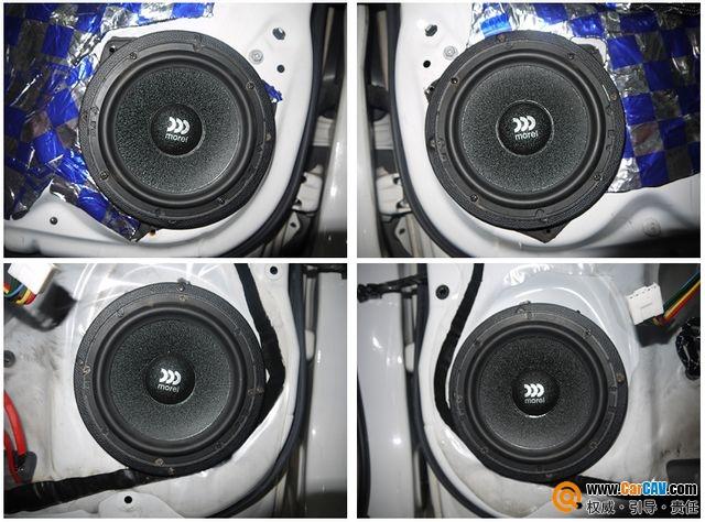【佛山酷车旋律】雅力士音响改装前后门喇叭摩雷玛仕舞 - 香港佳能仕公司 - 汽车音响