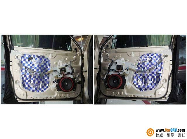 【佛山酷车旋律】丰田霸道汽车音响霸气改装摩雷 - 香港佳能仕公司 - 汽车音响