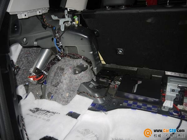 【佛山酷车旋律】奔驰GLK300音响改装摩雷 - 香港佳能仕公司 - 汽车音响