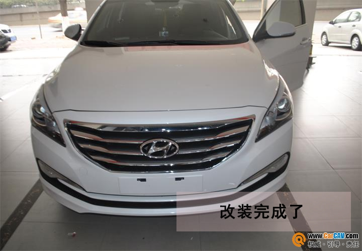 【广州德乐】现代名图汽车音响改装摩雷 有种怦然心动的感觉 - 香港佳能仕公司 - 汽车音响