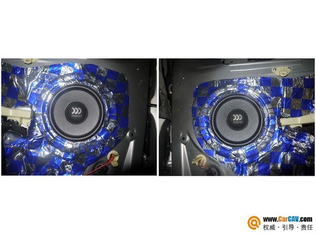 【佛山酷车旋律】标致308SW音响改装摩雷听爱卓武士刚柔 - 香港佳能仕公司 - 汽车音响