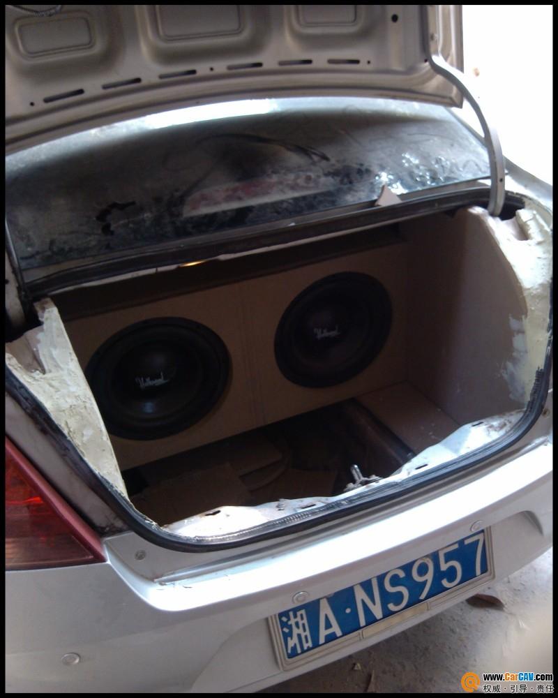 湖南长沙海声汽车音响改装 打造超级卖碟车 雪佛兰新赛欧高清图片