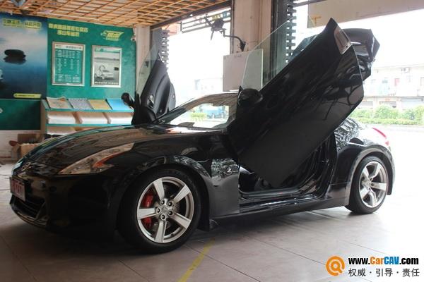 【佛山车音匠】日产370Z汽车音响改装摩雷专做好声音 - 香港佳能仕公司 - 汽车音响