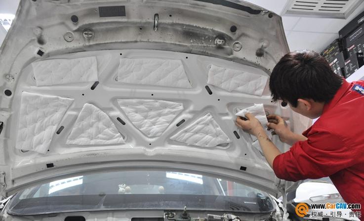 上海声脉长安CS35汽车音响改装豪客 享受豪华的驾乘感受高清图片