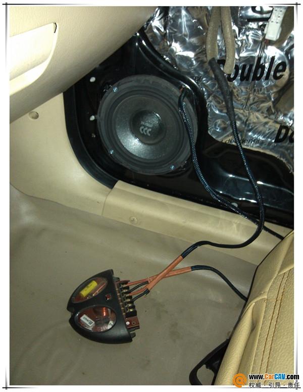 【长沙海声】伊兰特改装喇叭,当场升级为摩雷喇叭 - 香港佳能仕公司 - 汽车音响